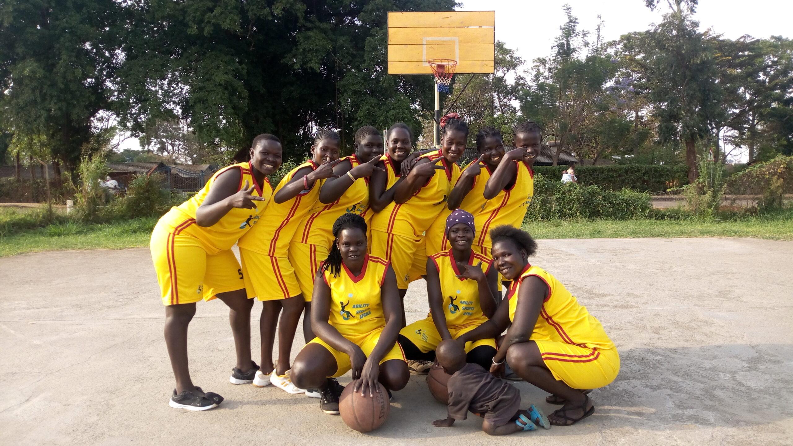 Deaf Girls Basketball team